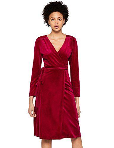 30810afb7d37 FIND DR300507 vestiti donna Rosso (Red Red) 52 (Taglia Produttore  3X-