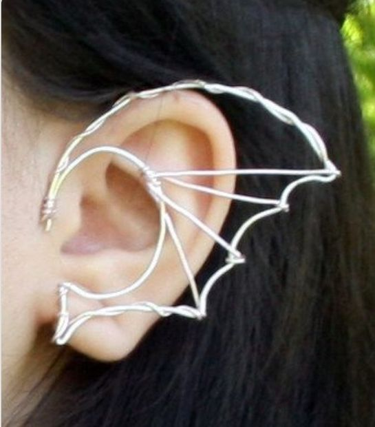 Dragon Wing Ear Cuff #jewelry #earring