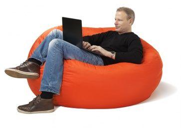 25 beste idee n over zitzak stoelen op pinterest zitzakken en gigantische zitzakken - Eigentijdse pouf ...