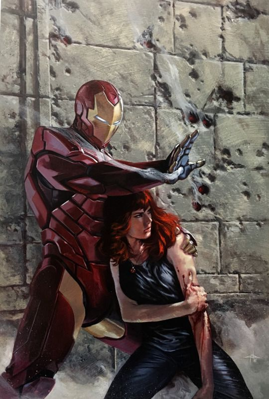astierfan:  International Iron Man #1 Variant Cover By Gabriele Dell'Otto   on sale now!