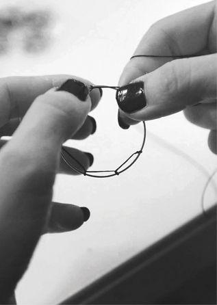 Dreamcather crocketing  #workshop #dreamcatcher #jewellery @photoshooting #handmade