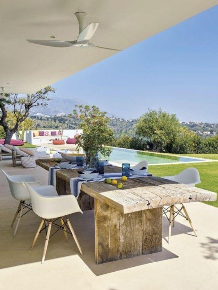 l immobilier espagne bord de mer en 61 photos pool style pinterest decora o et r stico. Black Bedroom Furniture Sets. Home Design Ideas