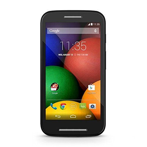 Amazon.com: Motorola Moto E Android Prepaid Phone with Triple Minutes (Tracfone): Cell Phones & Accessories