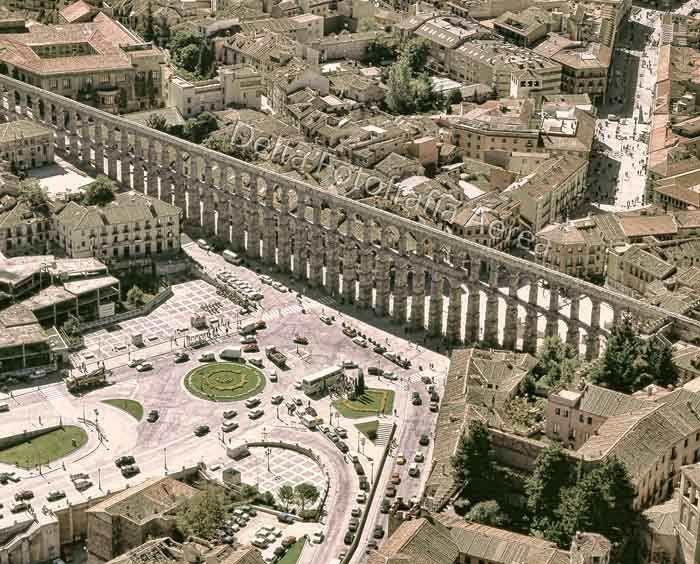 Acueducto de Segovia. ©Delta Fotografia Aèria.