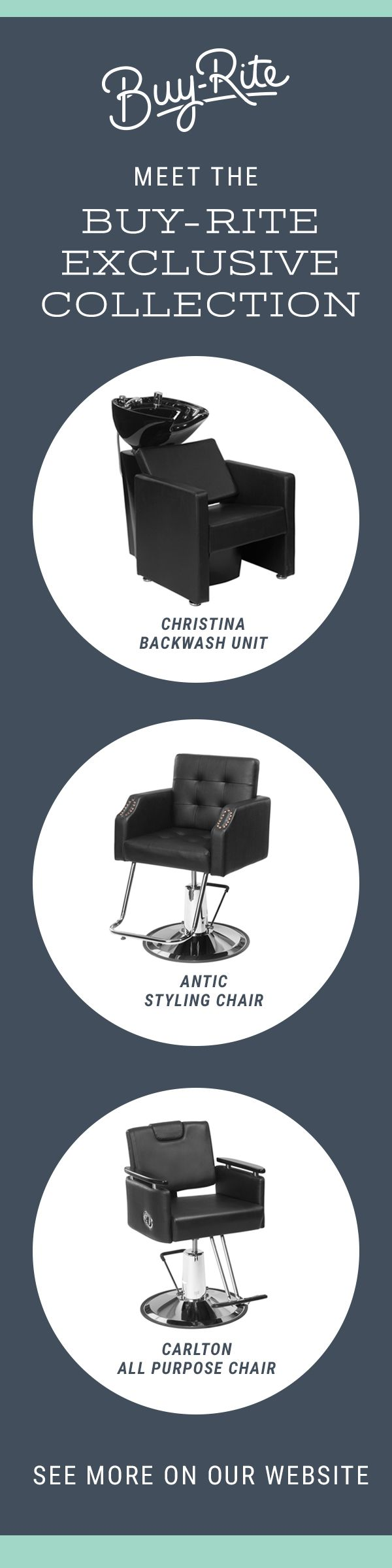 Find exclusive salon furniture at warehouse prices only on Buy-Rite Beauty.