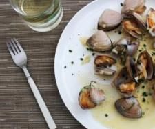 Clams with cider and chive cream | Official Thermomix Recipe Community | Thermomix
