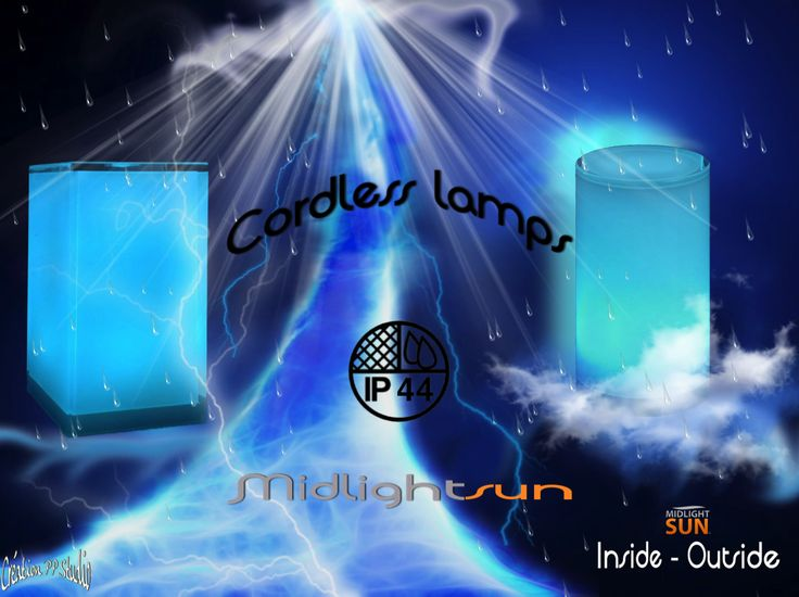 MIDLIGHTSUN offers a range of Wireless Indoor lights - outdoor IP44  Resistant to shock and waterproof lamps for indoor use and / or external.  A lighting solution that makes your life easier. http://www.midlightsun.com/cordless-table-lamps-197-en-us.html