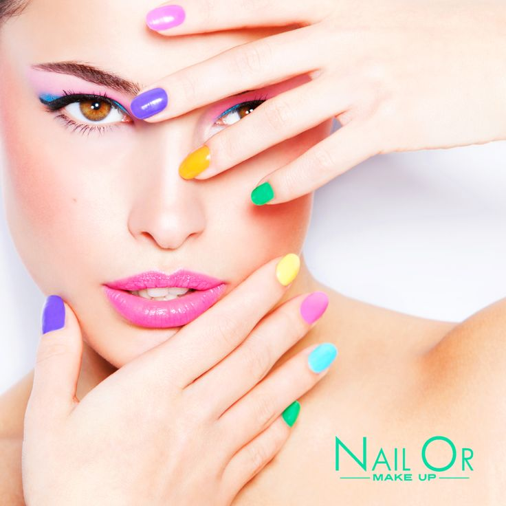 #summer #time Nail Or #makeup