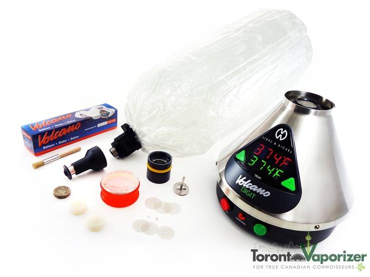 Digital Volcano Vaporizer with Solid Valve System - TorontoVaporizer