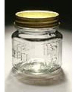 jelly jars wholesale  -8 oz Square Mason Jar With Choice of Lid