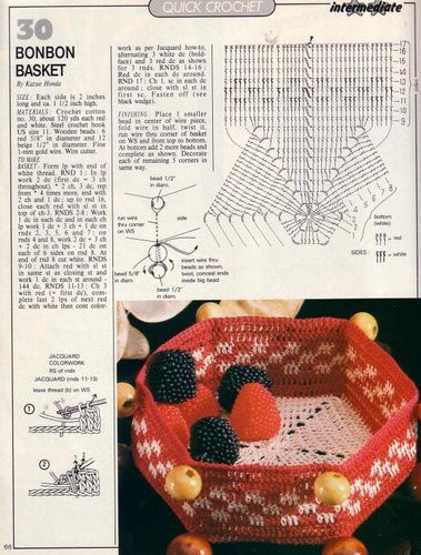 Patterns and motifs: Crocheted motif no. 666