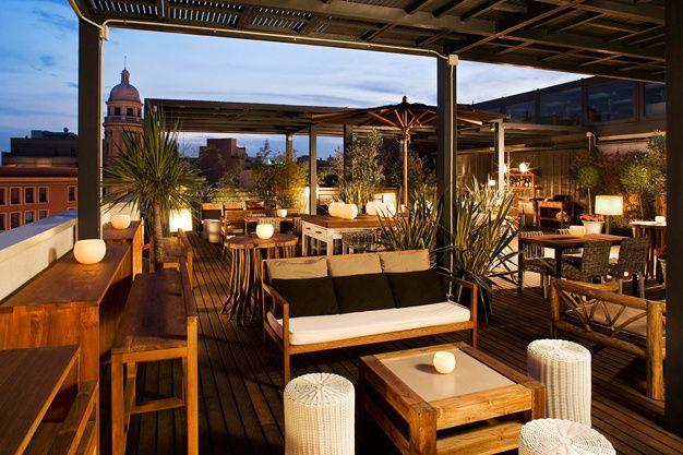 Les plus beaux rooftops du monde - Hotel Pulitzer Barcelone