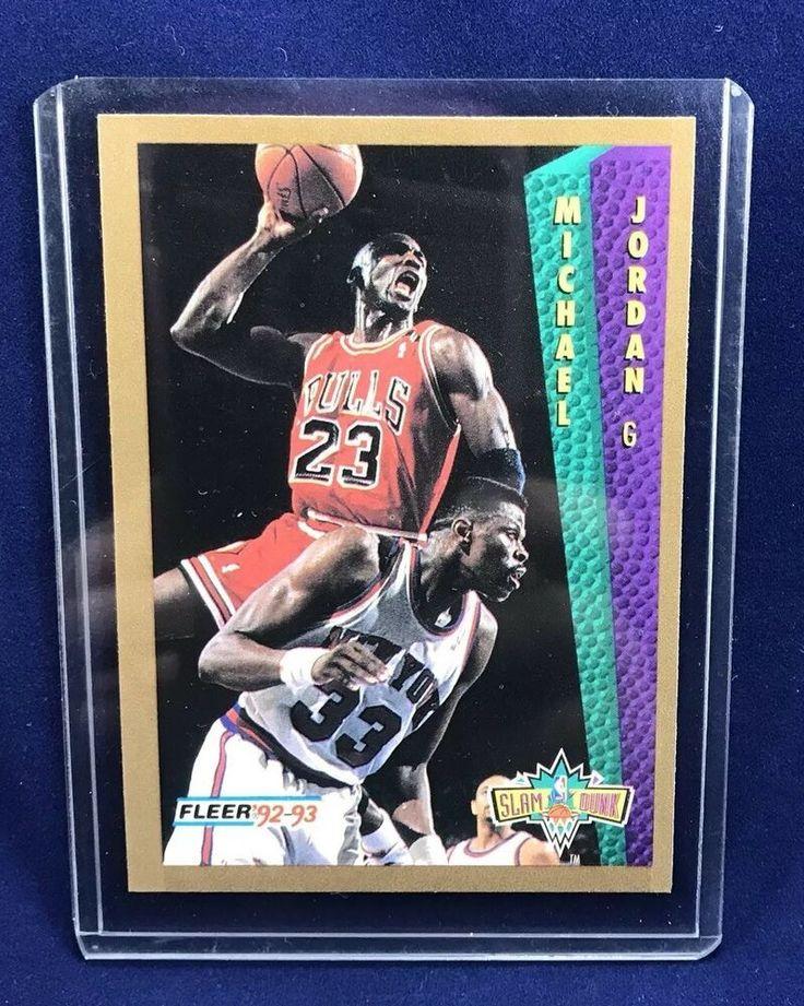 19921993 fleer michael jordan basketball card 273 ebay