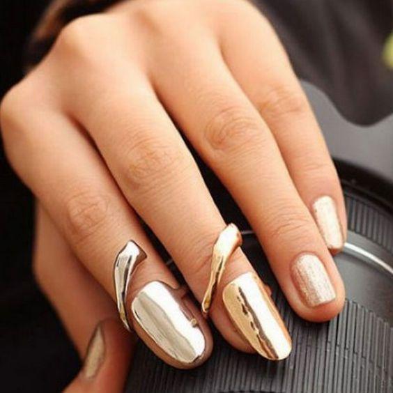 Anillos de uña (nail rings)