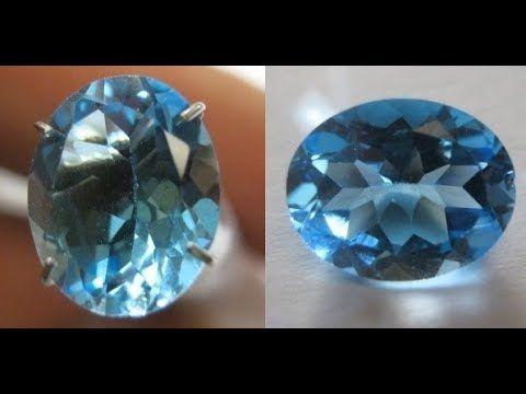 Batu Permata Natural Topaz Oval Swiss Blue 2.77 Carat