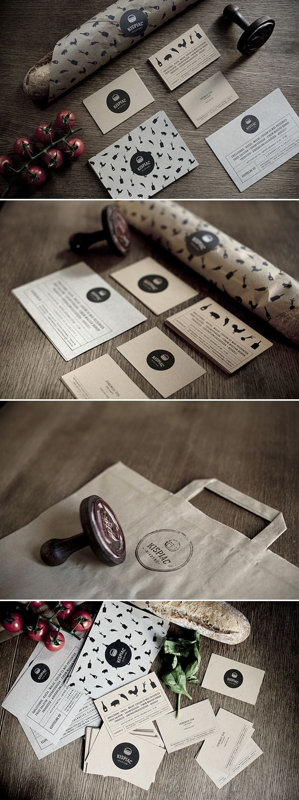 Unique Branding Design, Kispiac #branding #design (http://www.pinterest.com/aldenchong/)