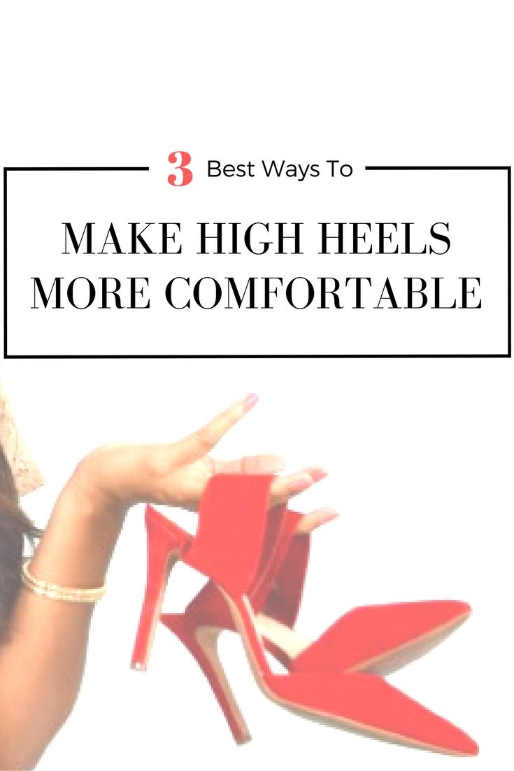 Do you hate wearing heels? No more walking home barefoot post long night out. These 3 tips will make walking in high heels way more comfortable! Click through to see my tips or save this pin for later!