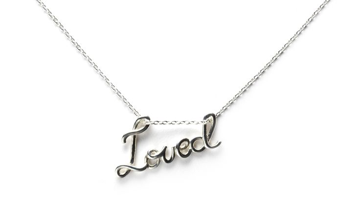 St. Kilda Love Necklace: Pendant Necklace, Pendants Necklaces, Style, So Cute, Sweet Necklaces, Jewelry, Things, Sterling Silver Necklaces, To Be Loved
