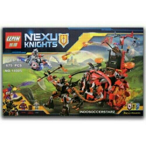 Jual LEGO LEPIN 14005 Nexo Knights Jestro's Evil Mobile hanya Rp 300.000,  www.tokopedia.com/indosoccerstarz,  www.bukalapak.com/indosoccerstarz