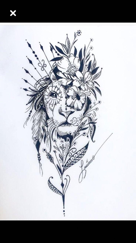 buntes Mandala-Tattoo #Mandalatattoo