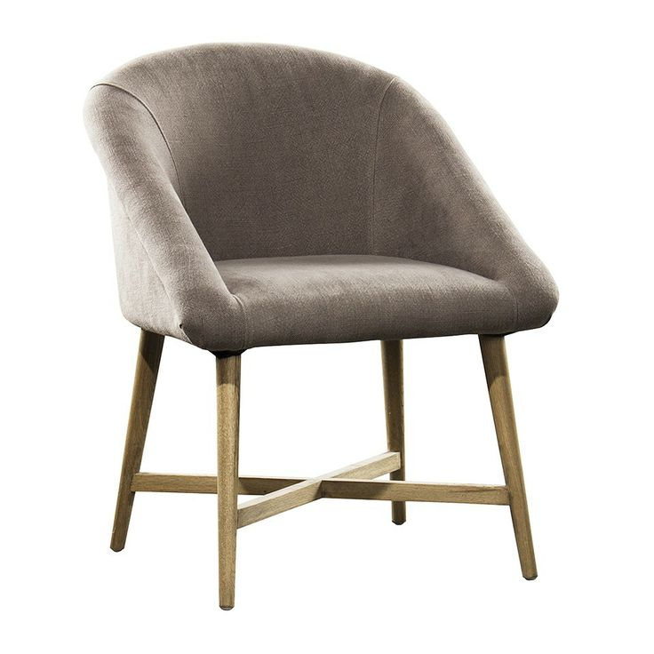 RUBEN LINEN DINING CHAIR - TOBACCO - Up to 30 Percent Off - Shop Entire Sale - Half Yearly Sale - HD Buttercup Online – No Ordinary Furniture Store – Los Angeles & San Francisco
