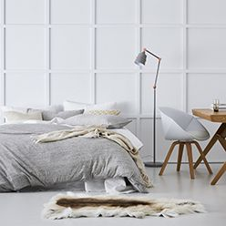 Until you run your hand across a cotton jersey surface such as this, you won't believe how incredibly soft and luxurious it feels. Sold separately, these sheets are ideal heading into winter if you're looking for something in between a standard cotton and flannelette sheet.