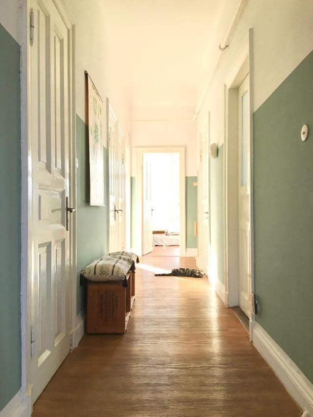 die besten 25 altbau flur beleuchtung ideen auf pinterest wand farbig streichen mit wei em. Black Bedroom Furniture Sets. Home Design Ideas