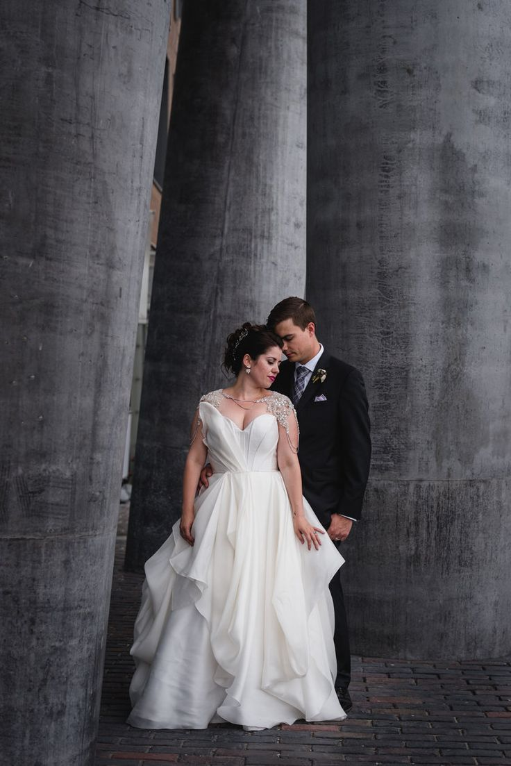 Real Wedding Inspiration | Gown: Carol Hannah Senara | Photographer: Hugh Whitaker