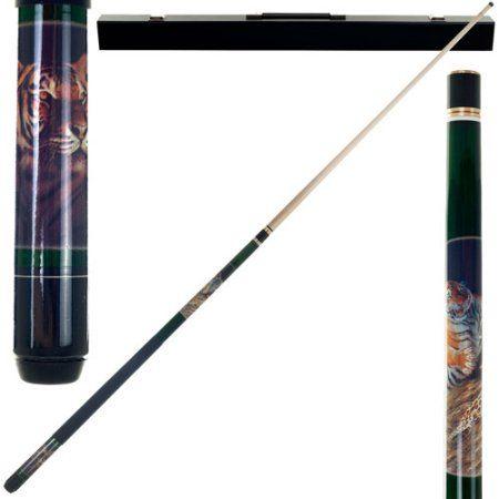 Bengal Tiger Pool Stick, Black