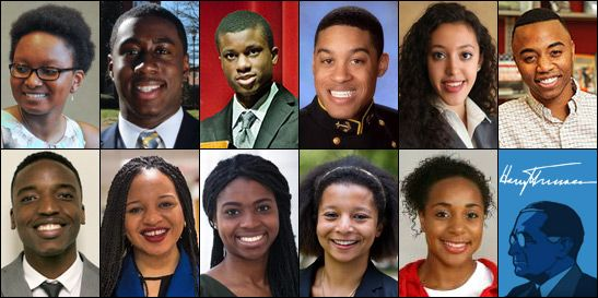Eleven African-American Students Earn Harry S. Truman Scholarships for 2015