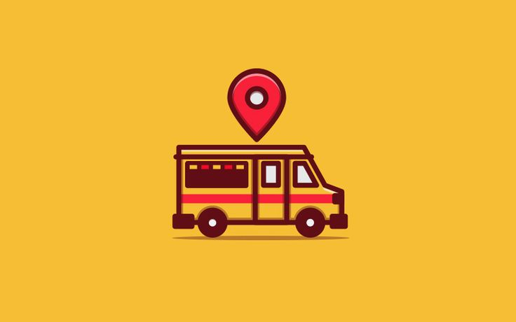 Icon Design for Perth Food Truck Locations. #design #branding #icon #logo #foodtruck