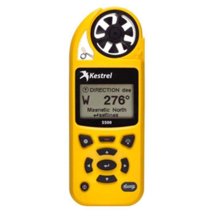 Kestrel 5500 Pocket Weather Meter - Yellow