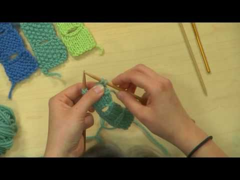 Knitting Daily- Tulip Buttonhole with Eunnny Jang - YouTube