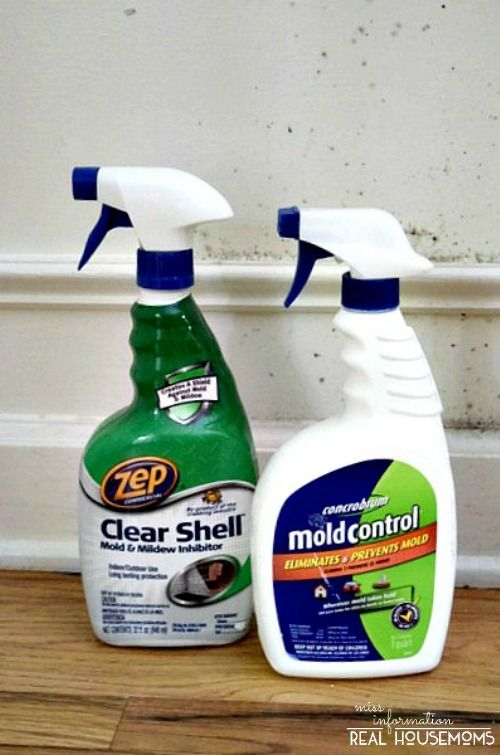 Remove Mold from Your Home and Keep it from Coming Back | Real Housemoms  This mold control is awesome!