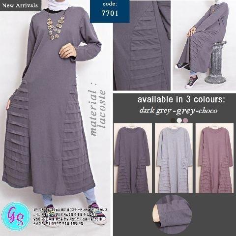 Naimme Plain Longsleeve Maxi Dress