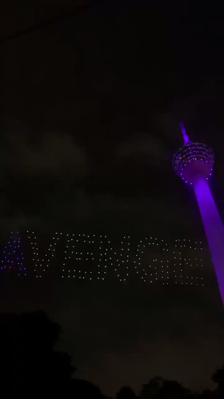 Avengers Drone Show in Malaysia