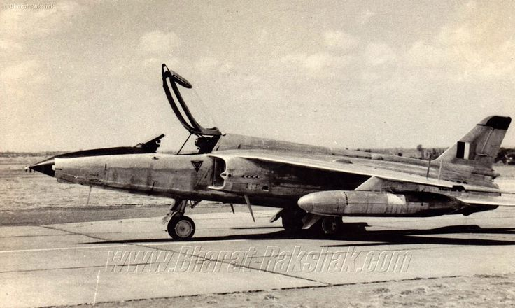 Folland Gnat Mk.1. First inducted in 1958, the Folland Gnat was to become a legend after its debut in the India-Pakistan War. The Gnat was produced in numbers by HAL, and a subsequent version of it was upgraded and christened the Ajeet.  The Gnat flew with Nos 23, 2, 9, 18, 21, 22, 24 Squadrons.