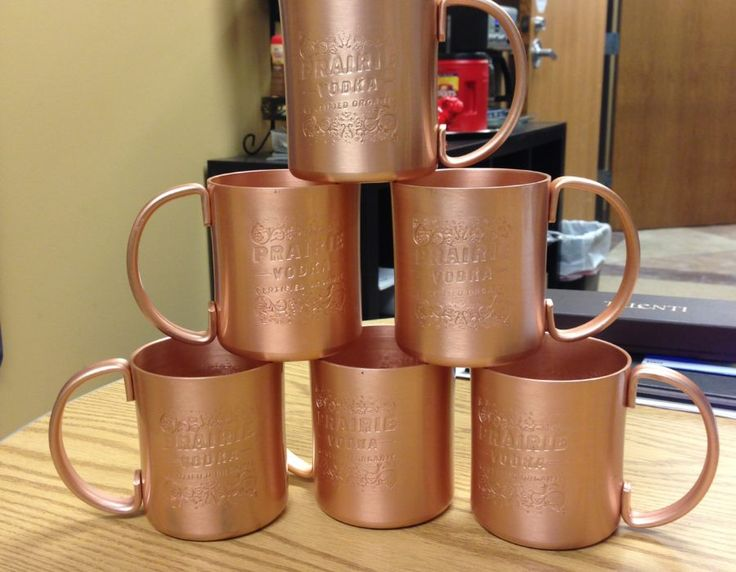 customized moscow mule mugs make great gifts for those who appreciate their alcohol - Copper Mule Mugs