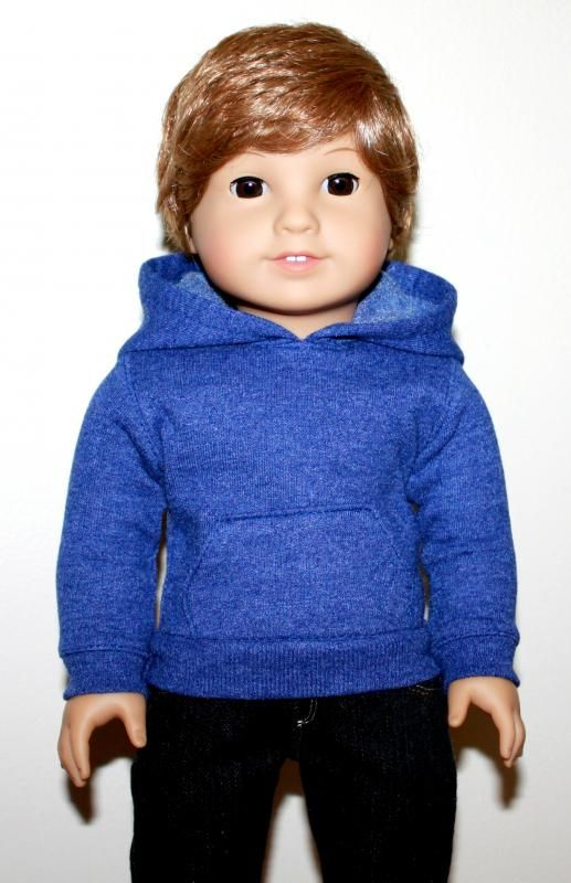 The Arrival of our new Custom American Boy doll made from a Doll without Hair from AG. Meet Archie! http://thedollwardrobe.blogspot.com/2013/03/larrivee-de-archie.html