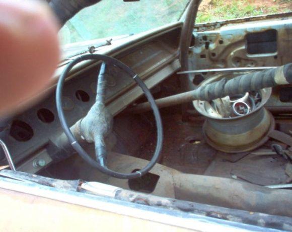 1965 Chevrolet Impala NASCAR Race Car Barn Find Roy Mayne For Sale Interior