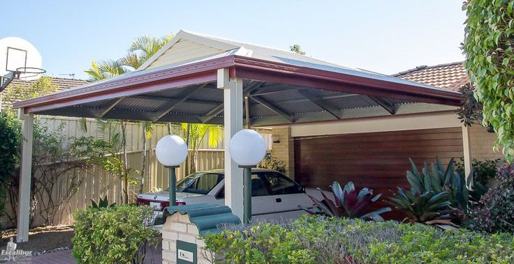 Double Carport Kit with Dutch Gable Roof (With images