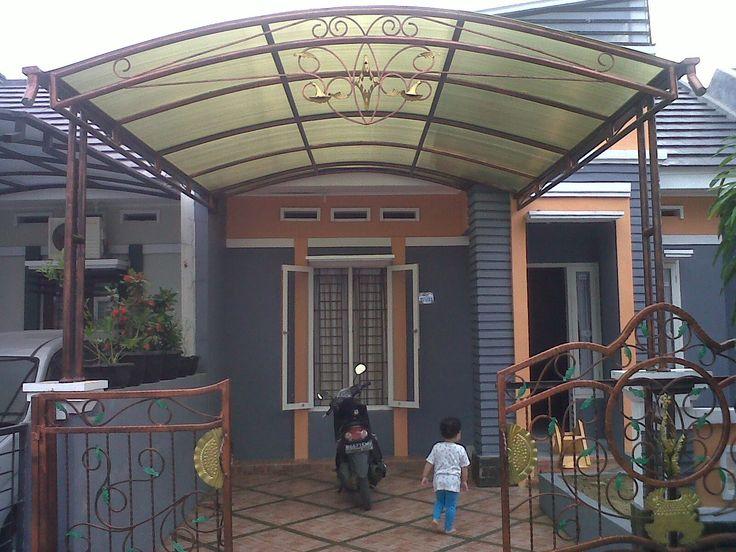 Desain gambar dan harga kanopi rumah minimalis terbaru for Harga kitchen set sederhana
