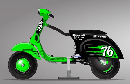 Vespa Monster Energy Challenge Scootentole