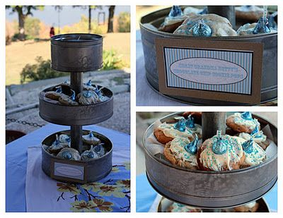 Rustic Vintage Country Boy Blue Baby Shower   Baby Lifestyles