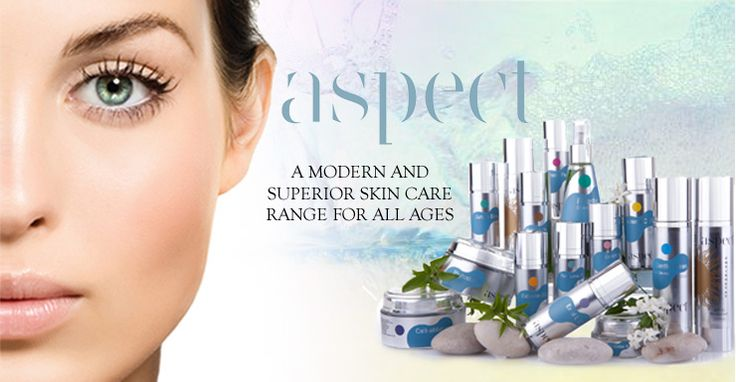 Aspect Skin Care sold at Jeune 177 Union Road, Ascot Vale Ph: 9370 1997
