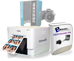 DNP RX1 Digital Photo Printer and Breeze Systems Software Bundle
