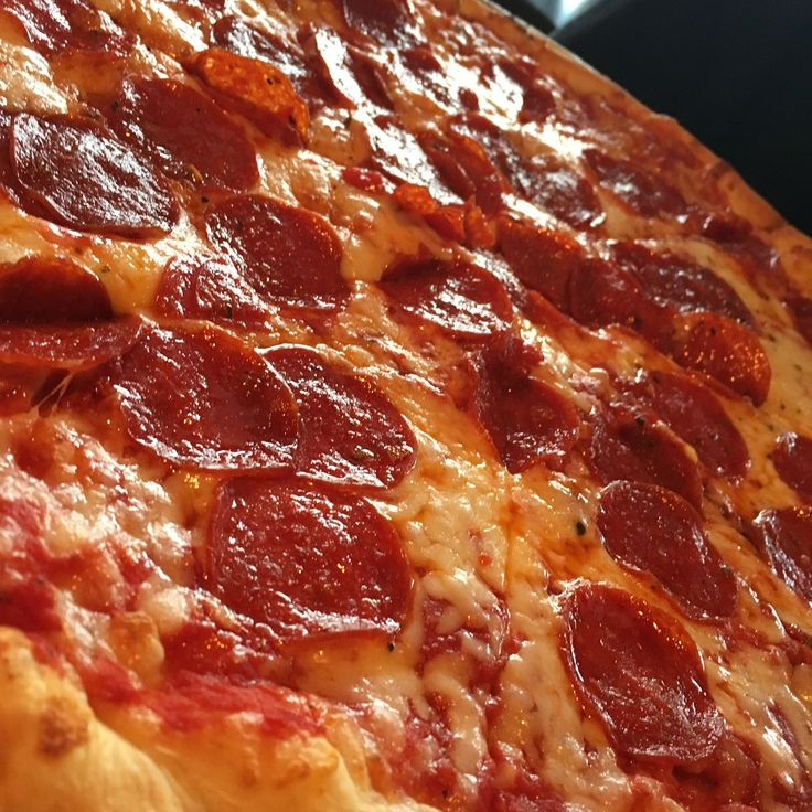 Pizza, Pepperoni, Cheese, Italian, Meal, Delicious