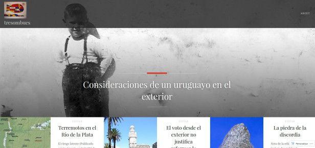 Tres Ombúes es un compendio de temas sociales y ambientales relacionados con Uruguay