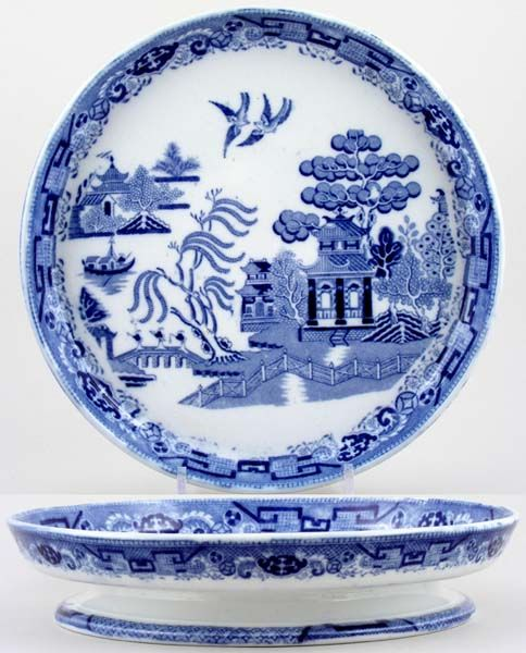 Dimmock Willow Cheese Stand C1840 Blue Pinterest And White China