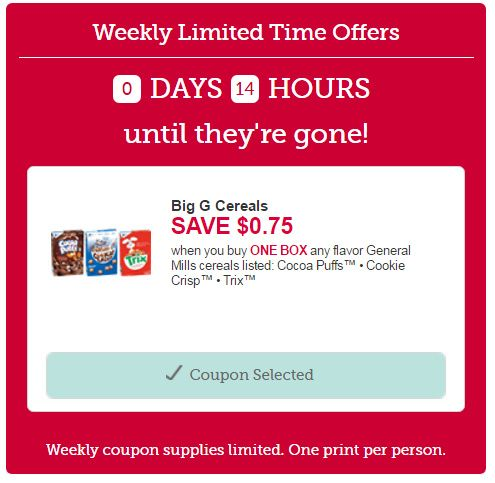 limited time betty crocker general mills cereal coupon... http://www.iheartcoupons.net/2017/02/limited-time-betty-crocker-general.html  #coupons #couponing #couponcommunity